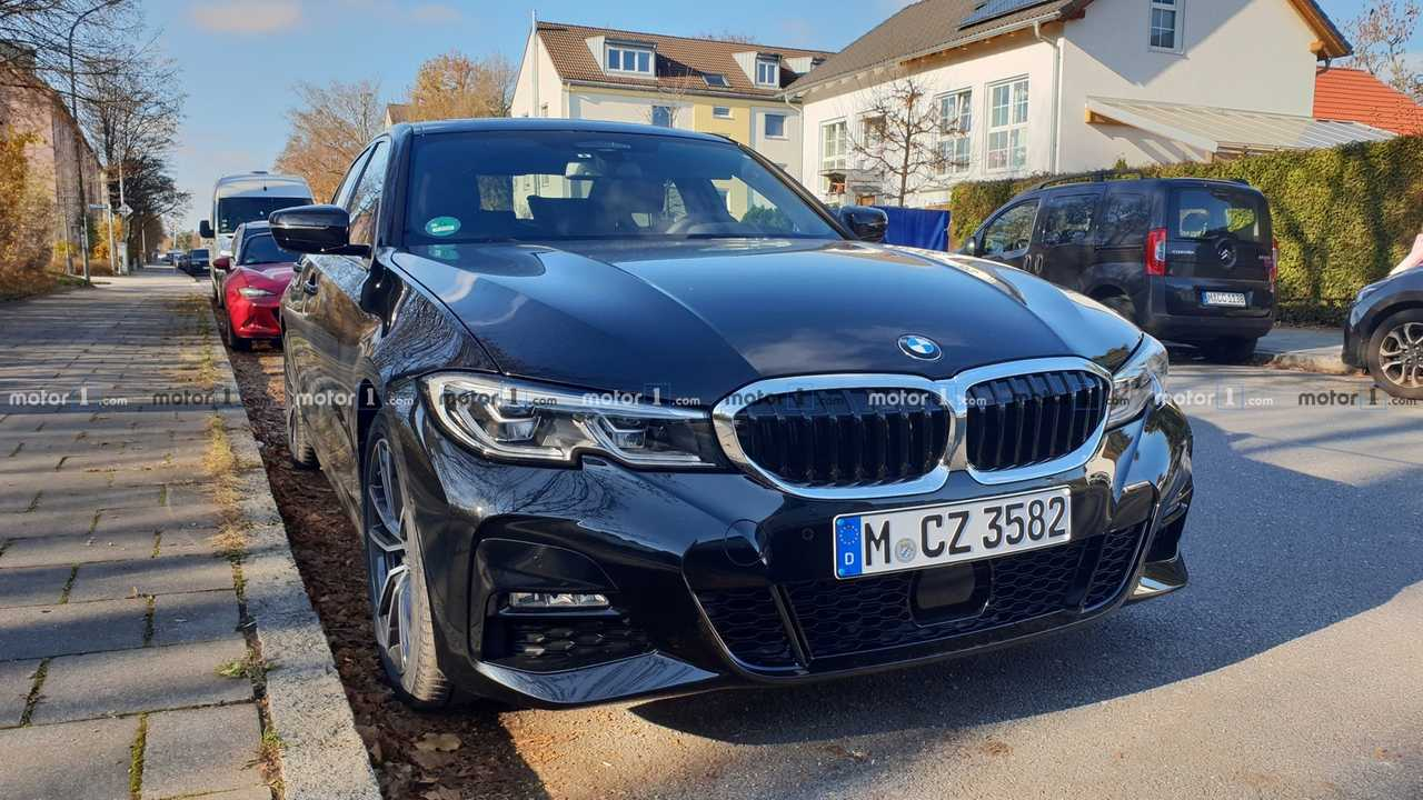2019 bmw 3 series spotted in the real world. Black Bedroom Furniture Sets. Home Design Ideas