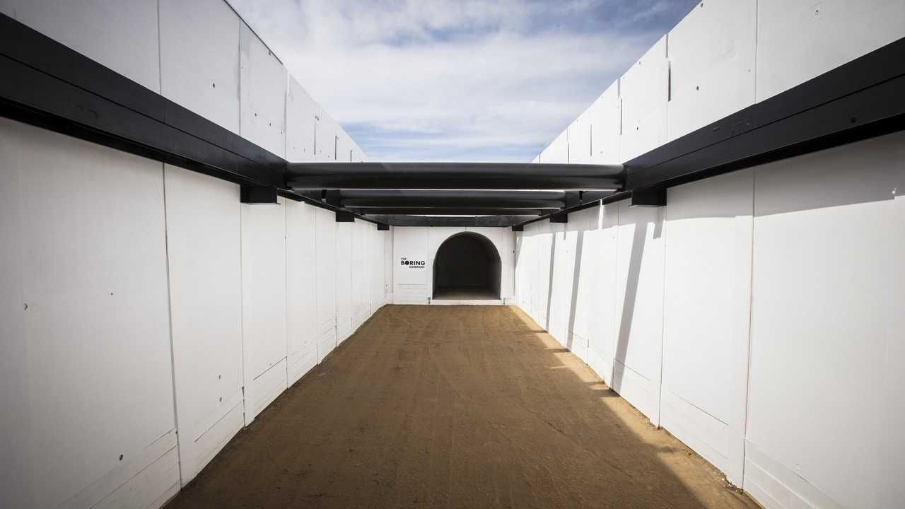 Hawthorne Tunnel - Boring Company