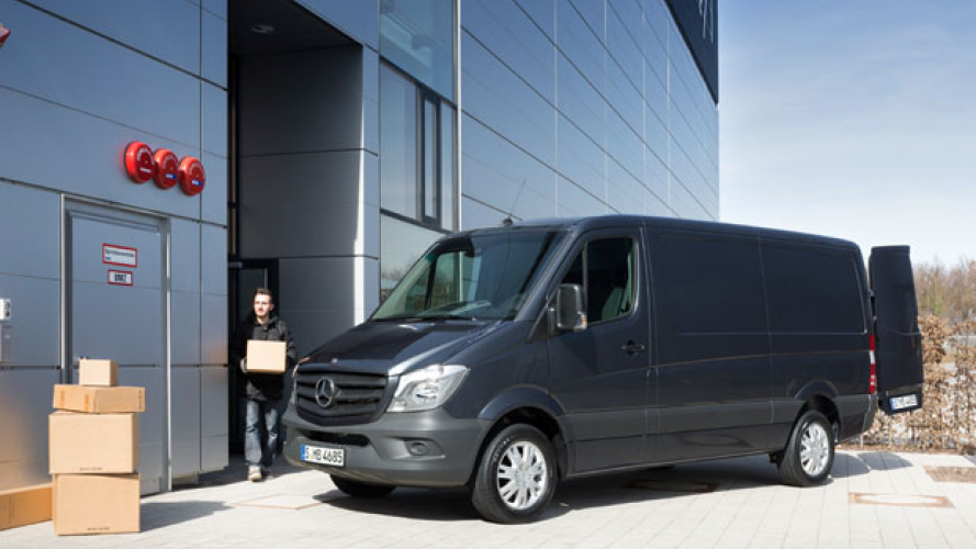 Mercedes i primi vent'anni di Sprinter