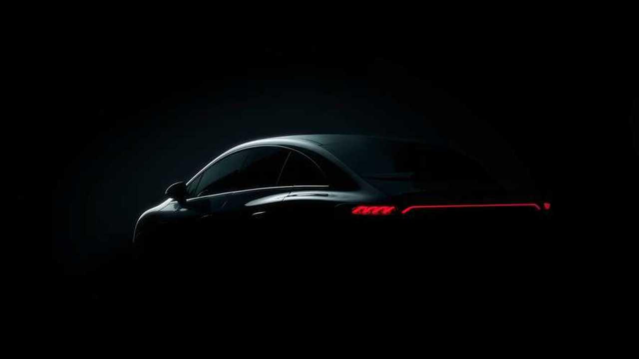 Ein erster Blick auf den kommenden Mercedes EQE