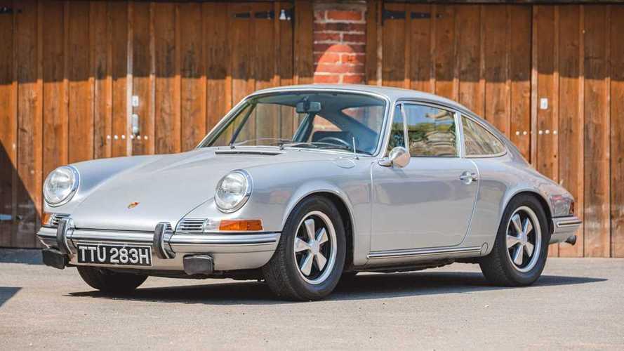 La Porsche del '69 di Richard Hammond venduta per 71mila euro