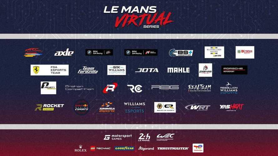 L'élite delle corse e degli esports per Le Mans Virtual Series