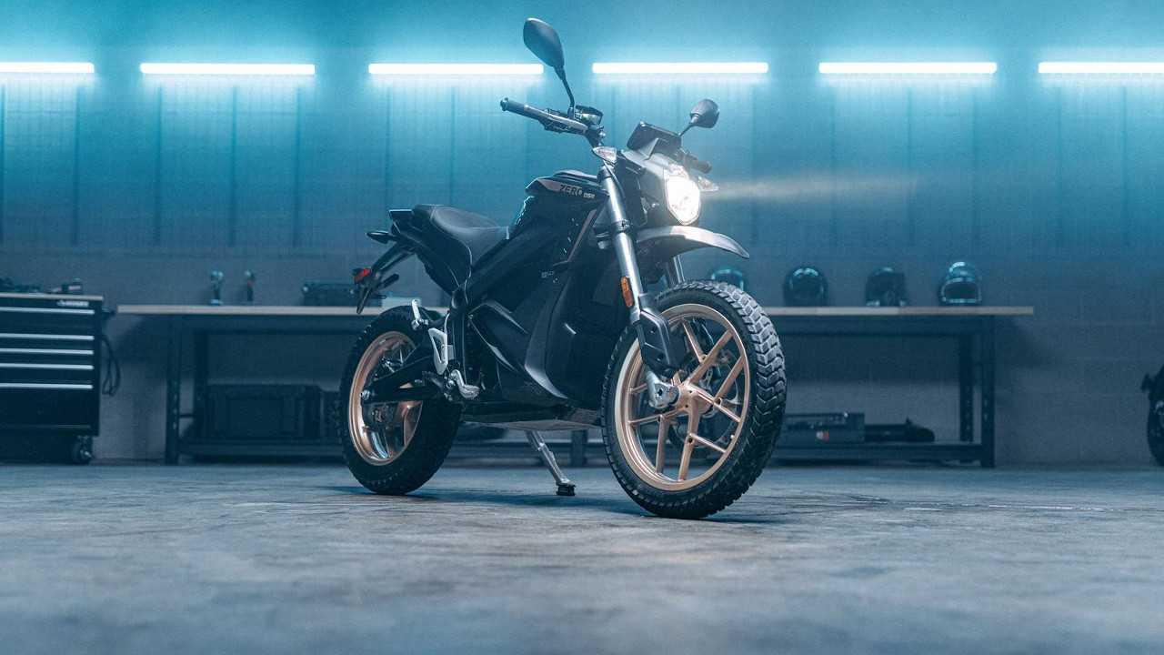 Zero Motorcycles DSR - Still