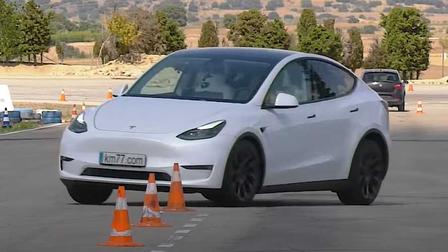 Tesla Model Y aces dreaded moose test and we're not surprised