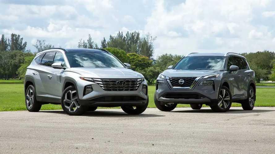 2022 Hyundai Tucson Vs Nissan Rogue: Comparison