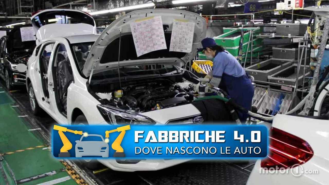 Fabbriche 4.0 Gunma Subaru