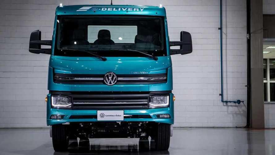 Caminhão elétrico VW e-Delivery tem 1° lote esgotado em um mês