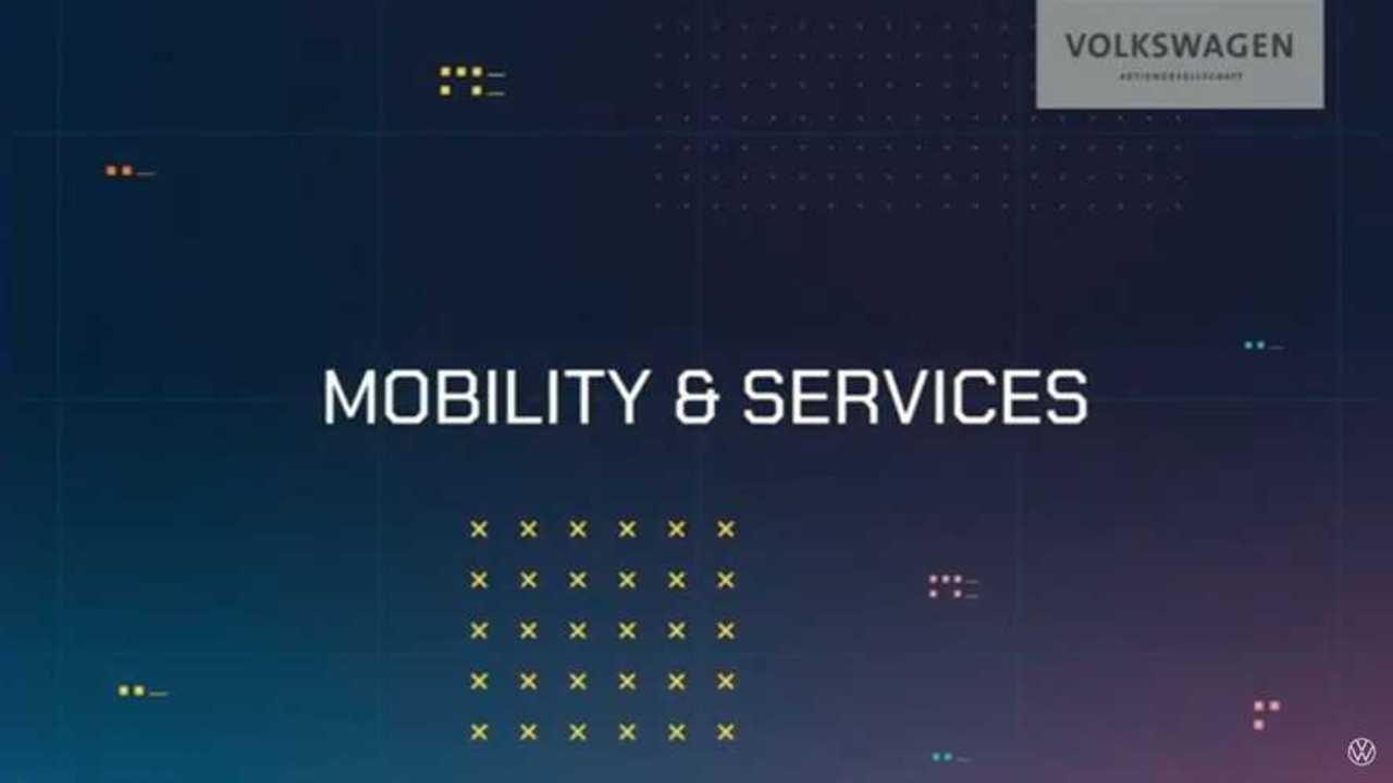 Pläne des VW-Konzern in Sachen Shared Mobility