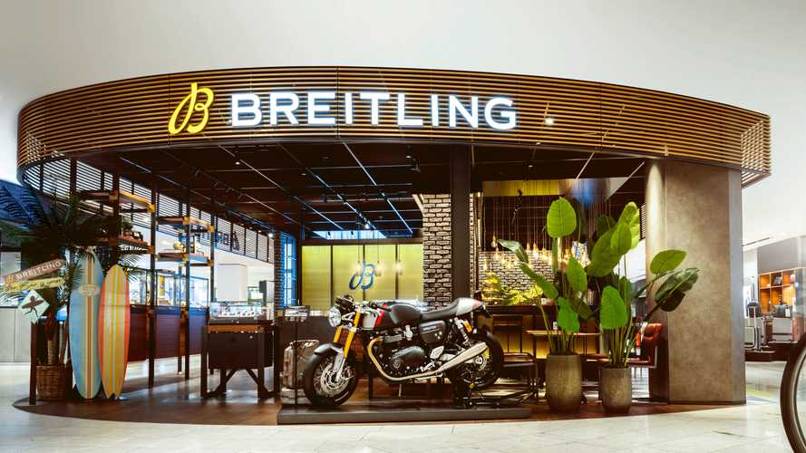 Triumph Motorcycles To Team With Breitling On Limited-Edition Items
