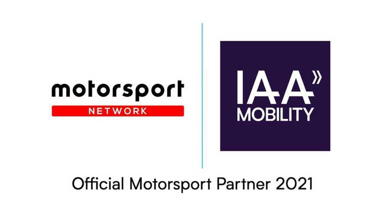 L'immagine della collaborazione ufficiale tra Motorsport Network e IAA Mobility di Monaco