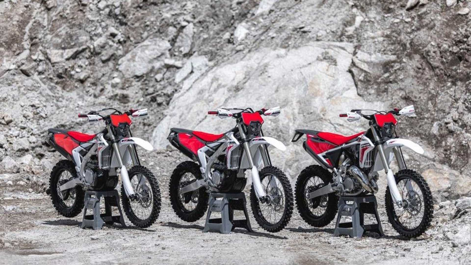 2022 Fantic XE 125, XEF 250, and XEF 450