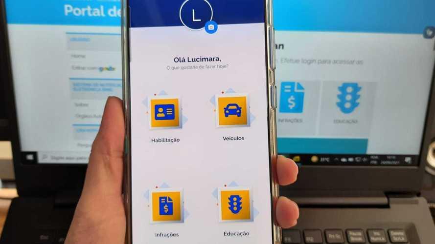 Agora é possível indicar motorista em multa por app de celular