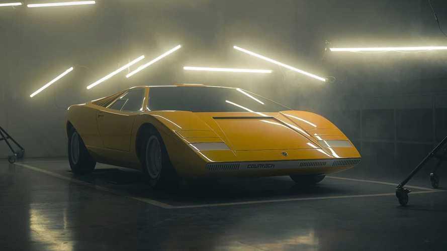 Lamborghini реконструировала самый первый Countach LP 500