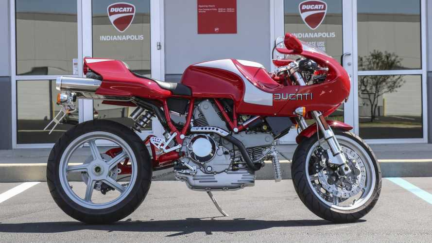 Can It Get Any Lower Than This Two-Mile Ducati MH900e For Sale?
