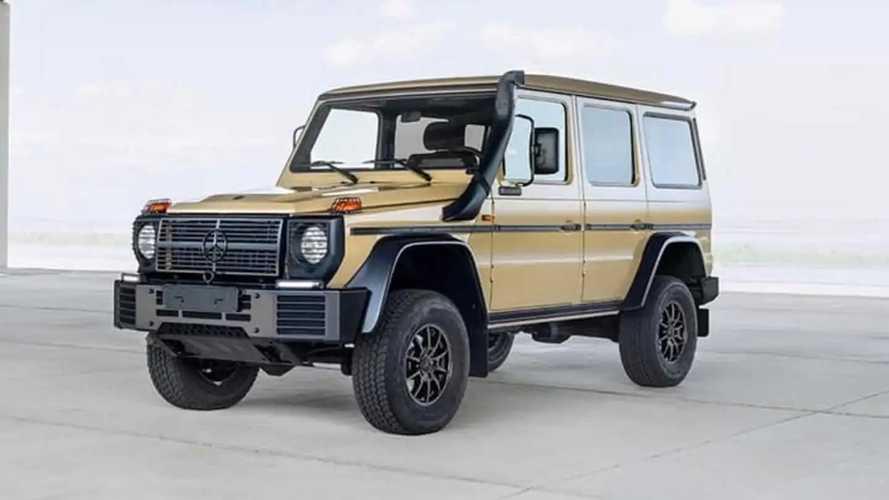 Анонсирован новый военный Mercedes-Benz G-класса