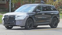 lincoln corsair facelift spied