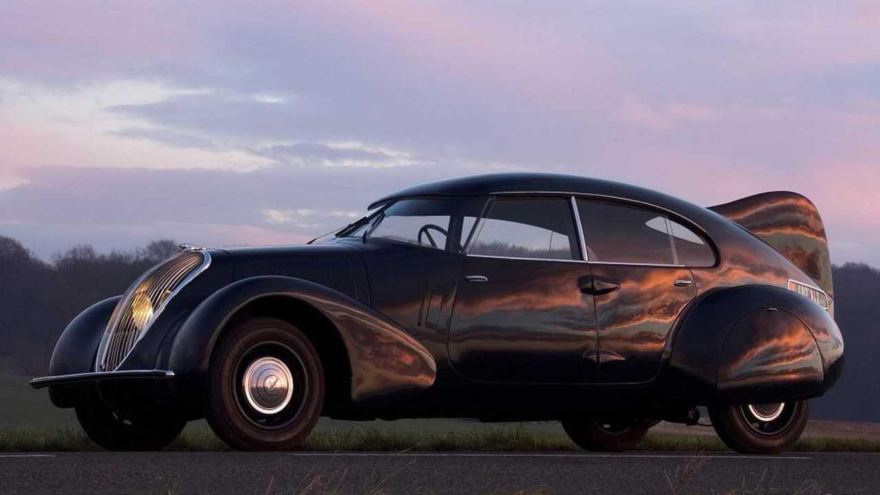Der Peugeot 402 Andreau von 1936