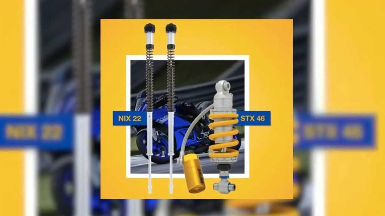 Öhlins Suspension Upgrades For Yamaha R3