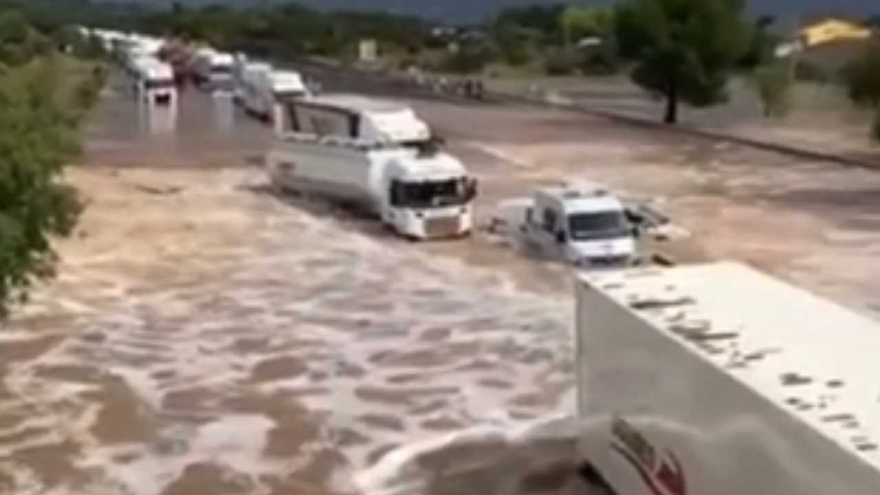 francia áradás