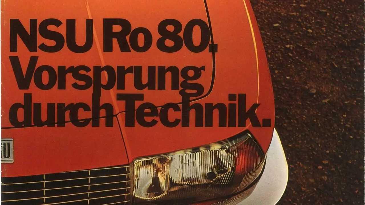 Der NSU Ro 80 warb erstmals mit