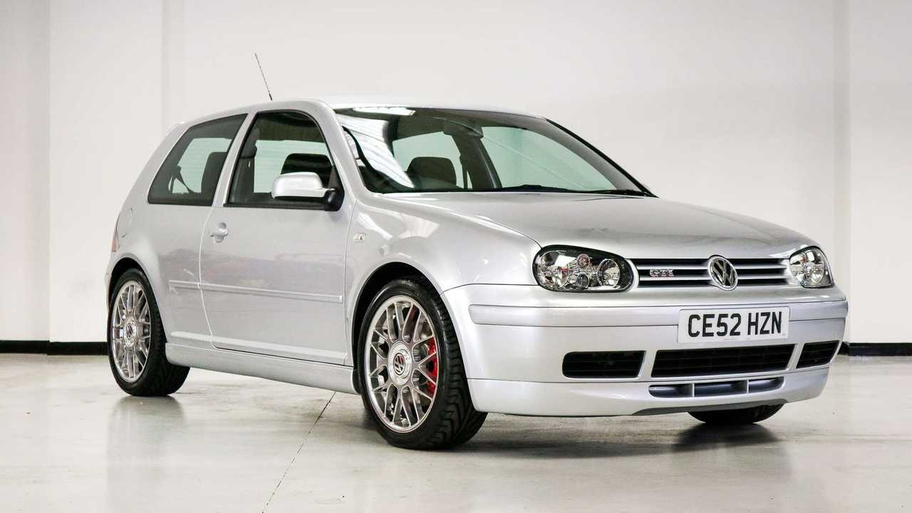 VW Golf GTI 25th Anniversary - leilão UK