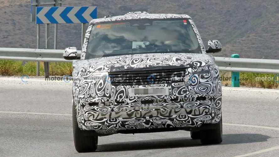 Шпионские фото гибридного Range Rover