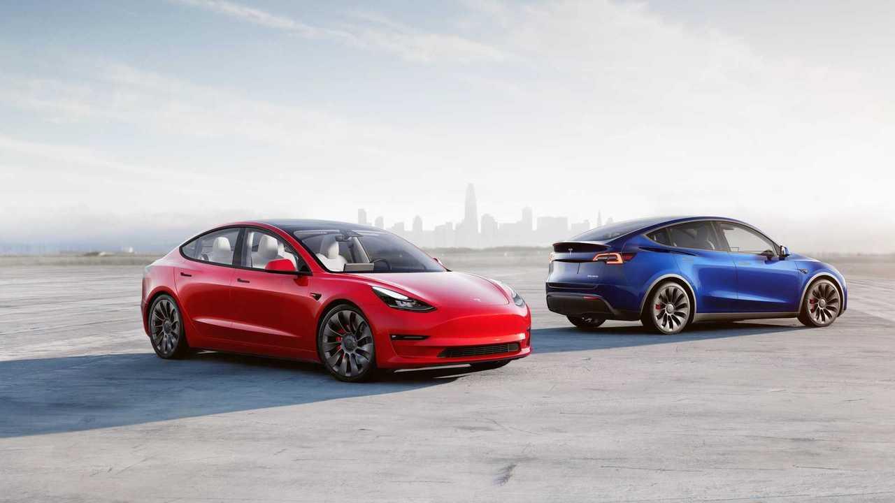 Tesla Model 3 and Tesla Model Y
