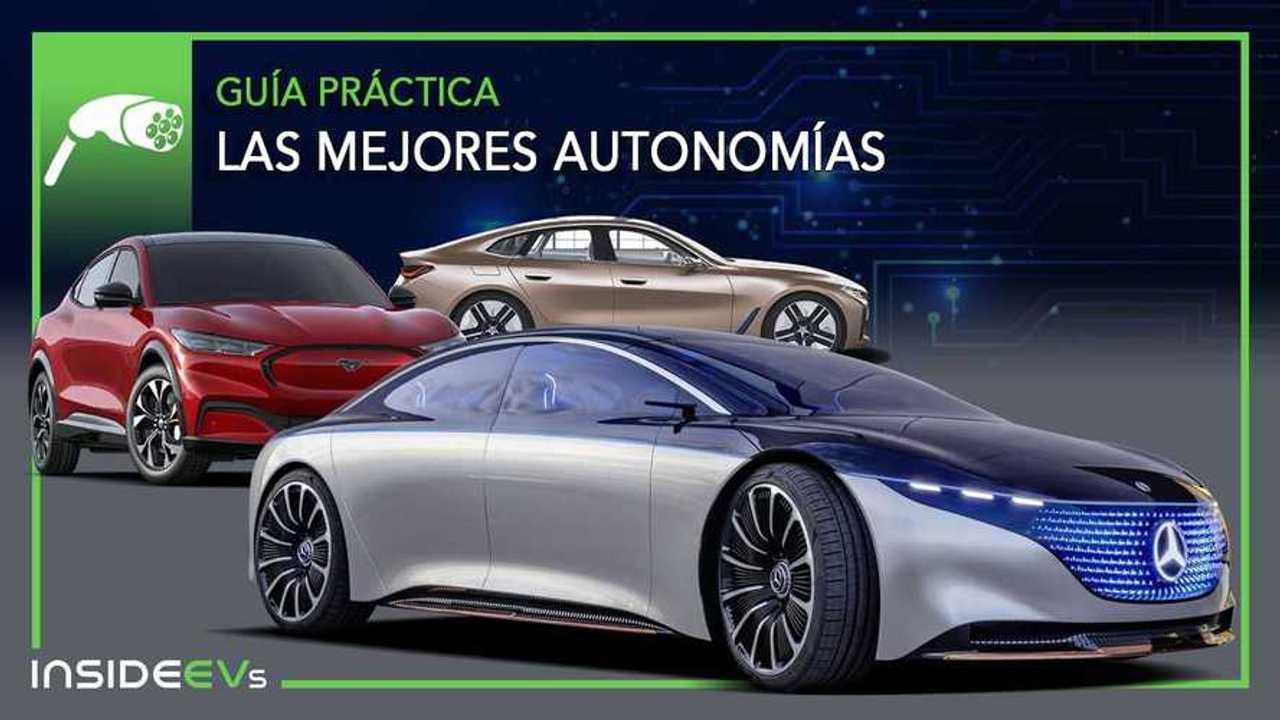 Lista de los coches eléctricos con mayor autonomía