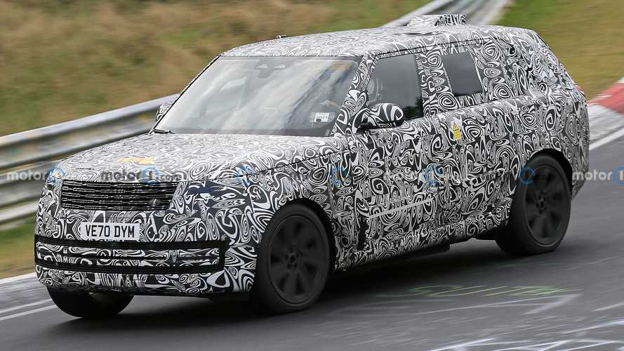 Next-Gen Range Rover Plug-In Hybrid Spied Lapping The Nurburgring