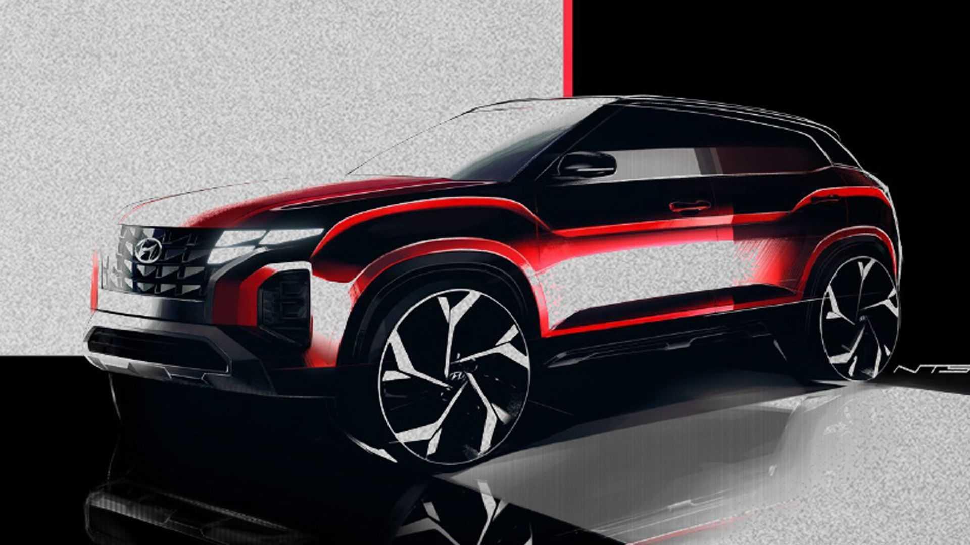 Hyundai сделает обновленную Creta похожей на «Тусон»