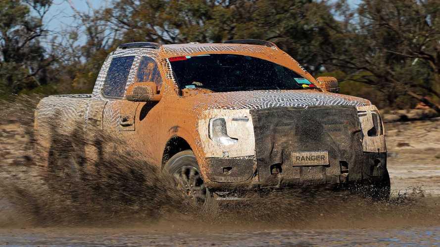 Nova Ford Ford Ranger 2023 rodou mais de 10 mil km só em desertos