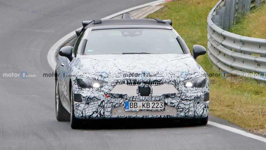 Mercedes CLE Convertible new spy photos