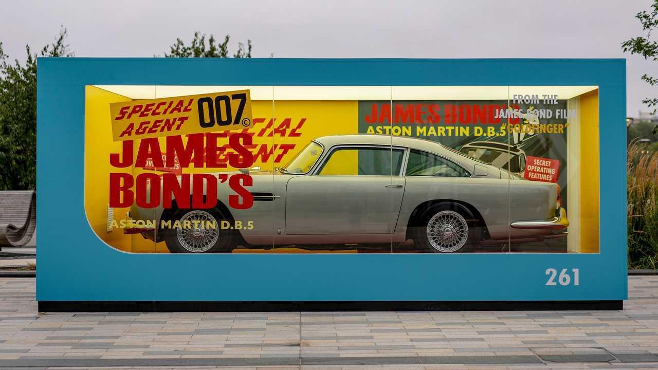 Aston Martin Corgi Toy Side