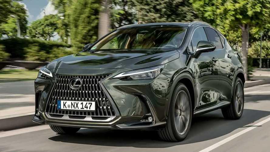 Prueba Lexus NX 350h 2022