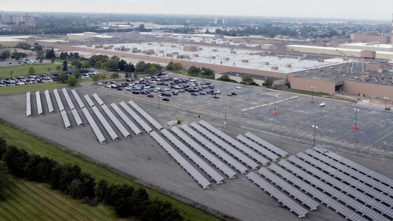 GM fabrica painel solar