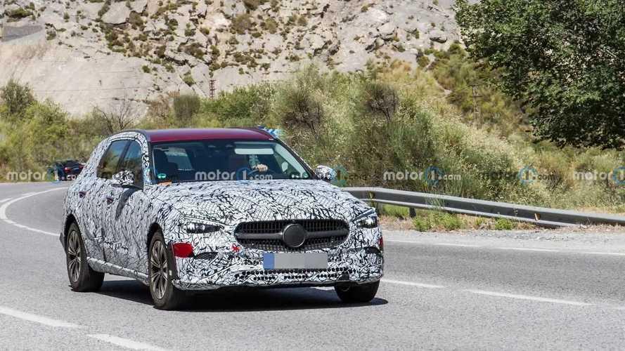 New Mercedes C-Class All-Terrain Spy Photos