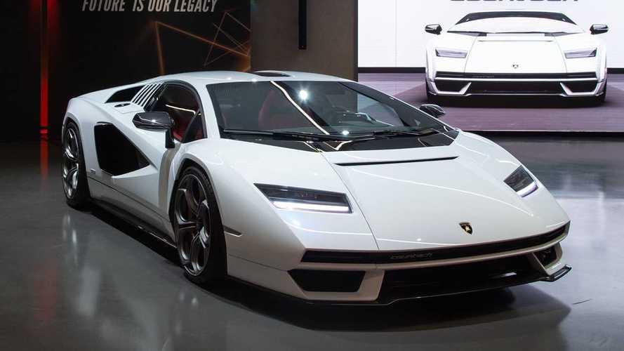 Novo Lamborghini Countach: híbrido, V12 e limitado a 112 unidades