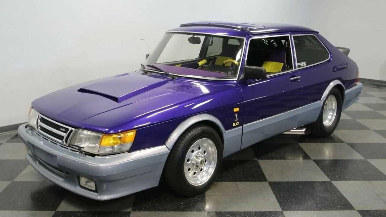 Tuningolt 1987-es Saab 900 eladó