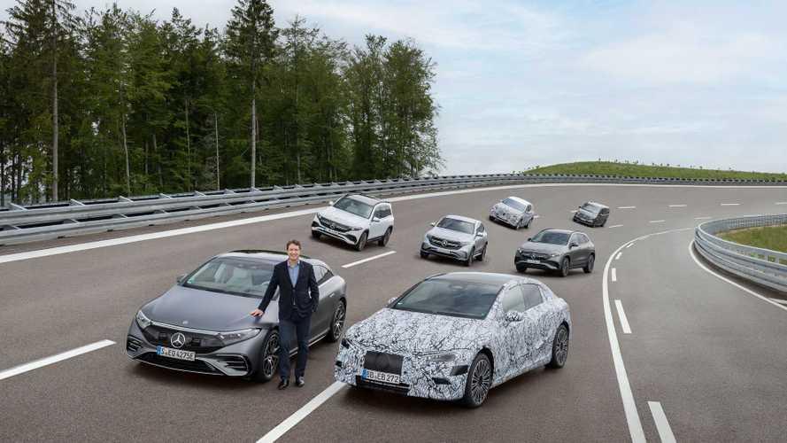 Dal 2025 le novità Mercedes saranno tutte elettriche