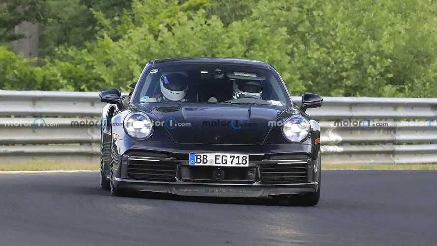 Porsche 911 Hybrid Erlkönigbilder