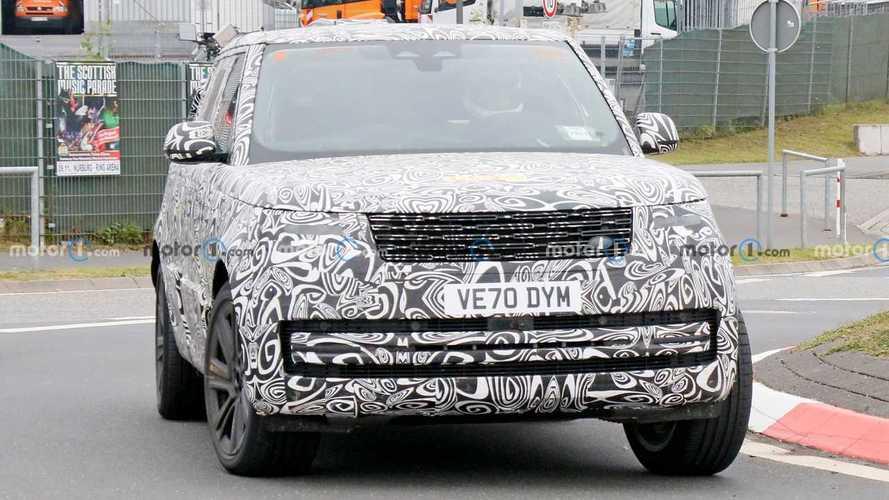 2022 Range Rover PHEV casus fotoğrafları