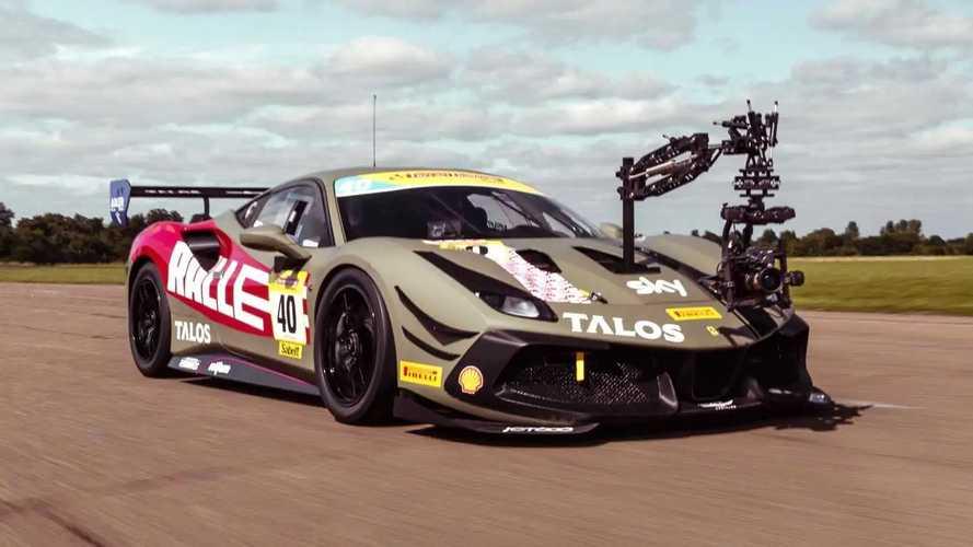Ferrari 488 Challenge Camera Car