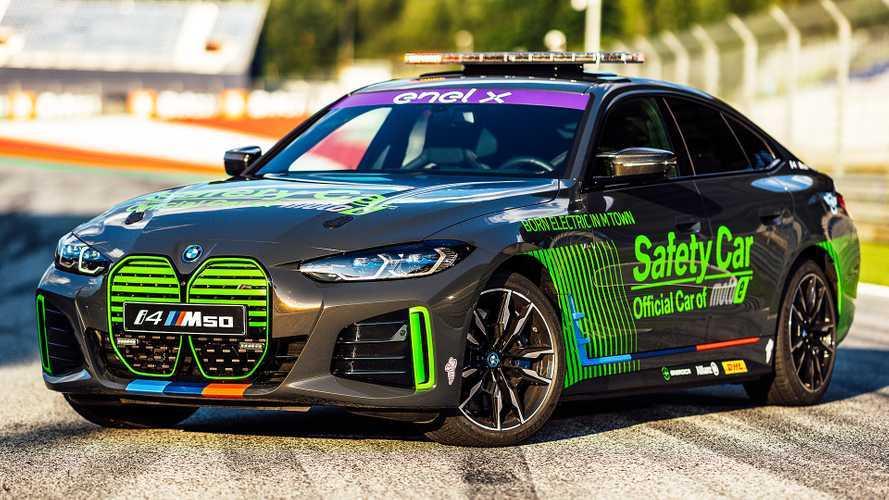 BMW i4 M50, la Safety Car della Coppa del Mondo FIM Enel MotoE