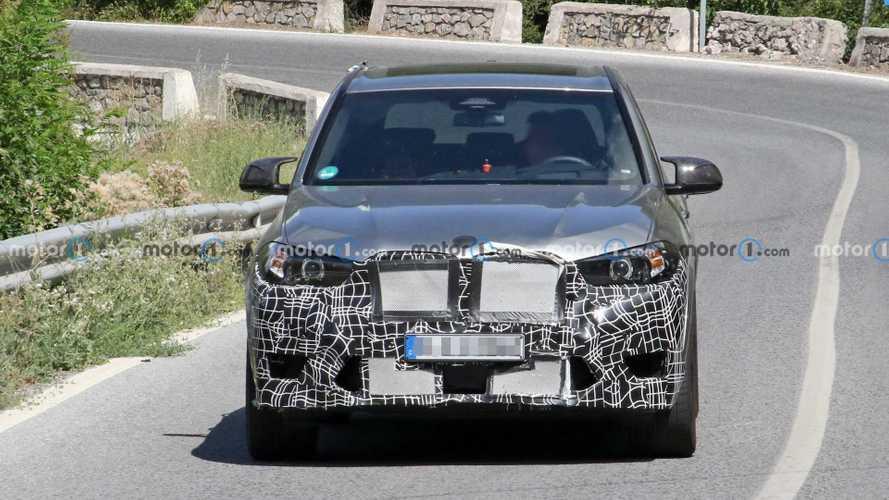 BMW X5 M facelift new spy photos