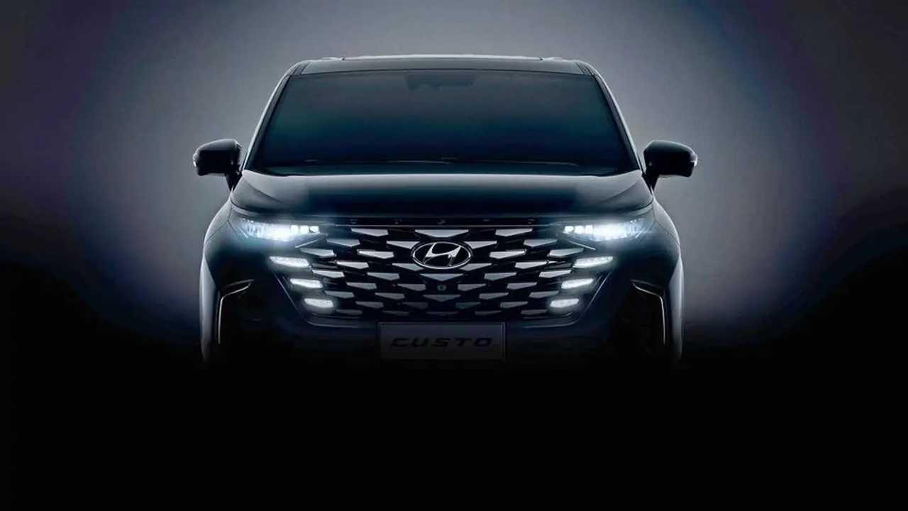 Официальные тизеры Hyundai Custo