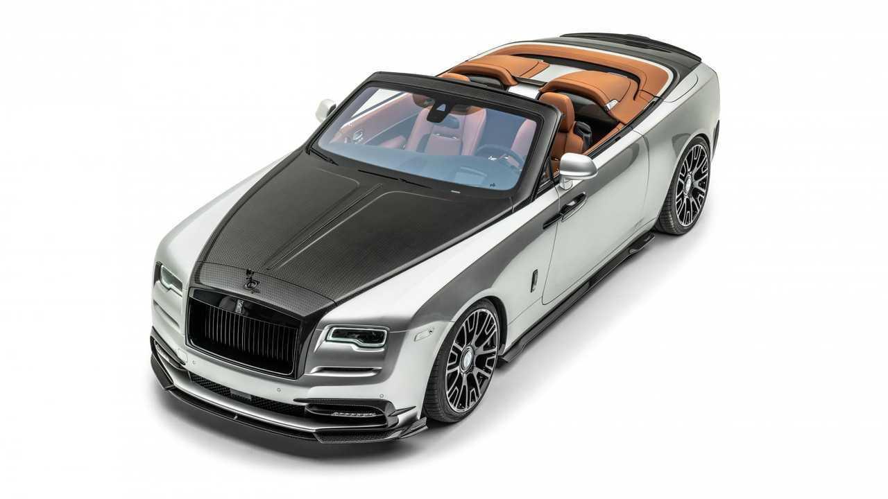 Rolls-Royce Dawn Silver Bullet, il