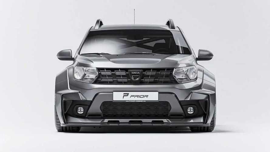 Dacia Duster Widebody Aero-Kit by Prior-Design