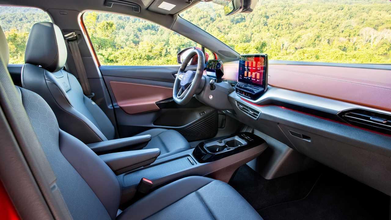 2021 Volkswagen ID.4 AWD interior