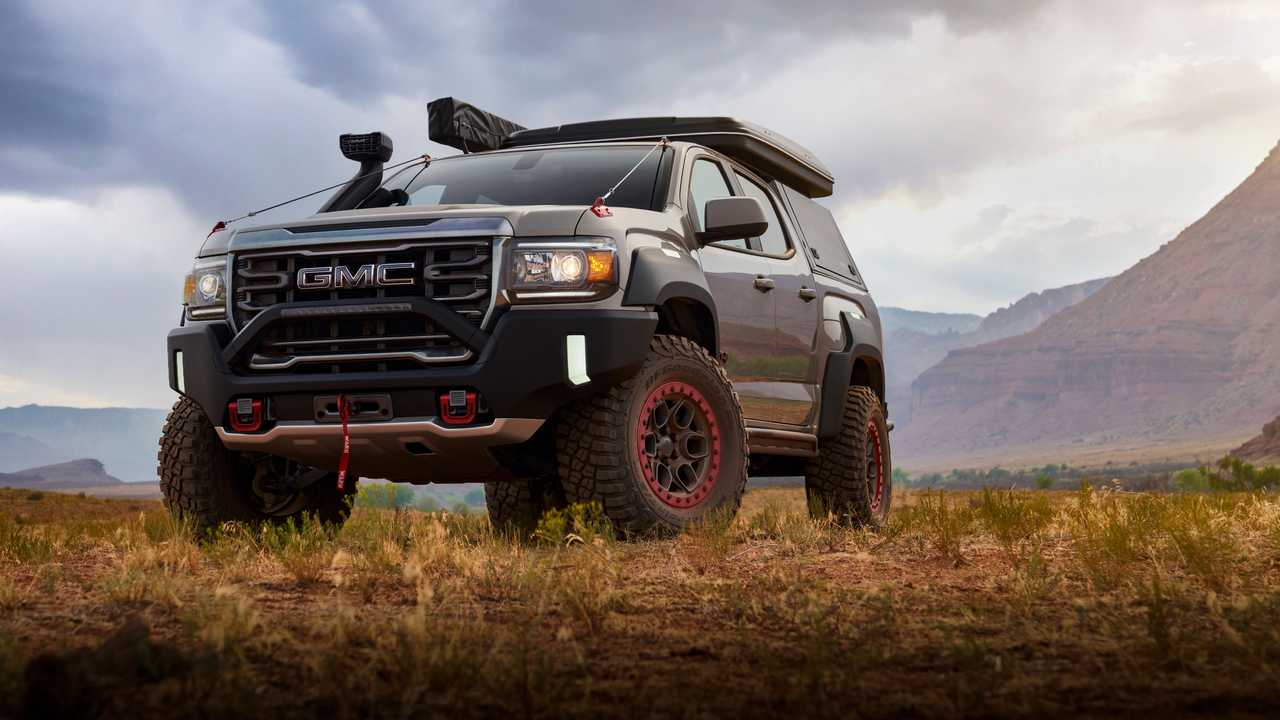 Concept off-road GMC Canyon AT4 OVRLANDX