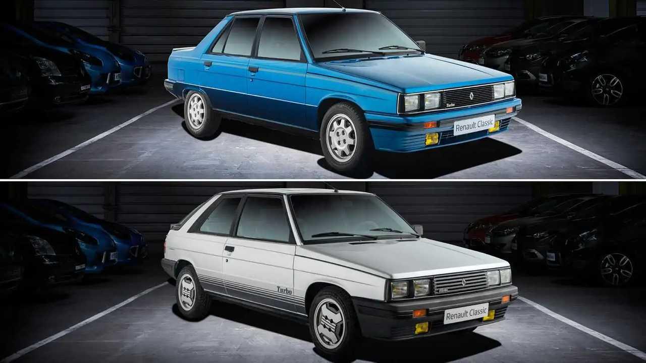 Renault 9 Turbo e Renault 11 Turbo